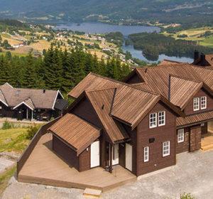 Helt ny hytte med flott utsikt – 10 sengevakter, Voss