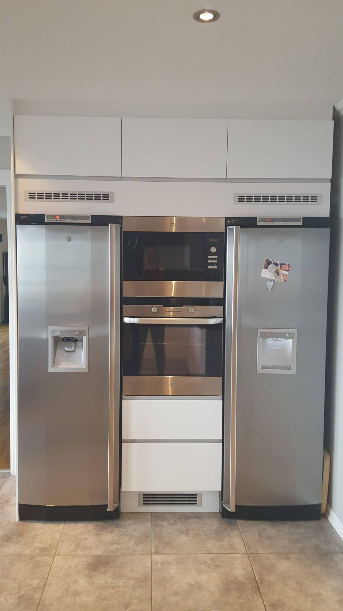 Fridge and refrigerator