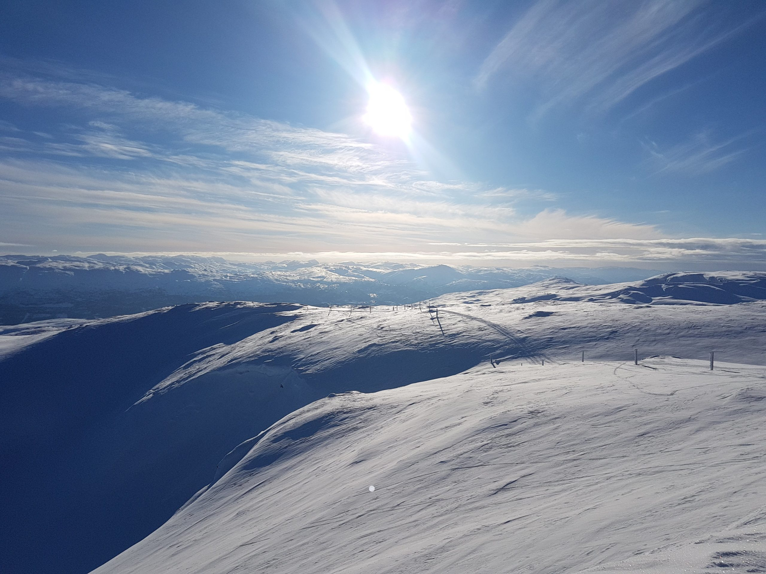 Spectacular Winter views