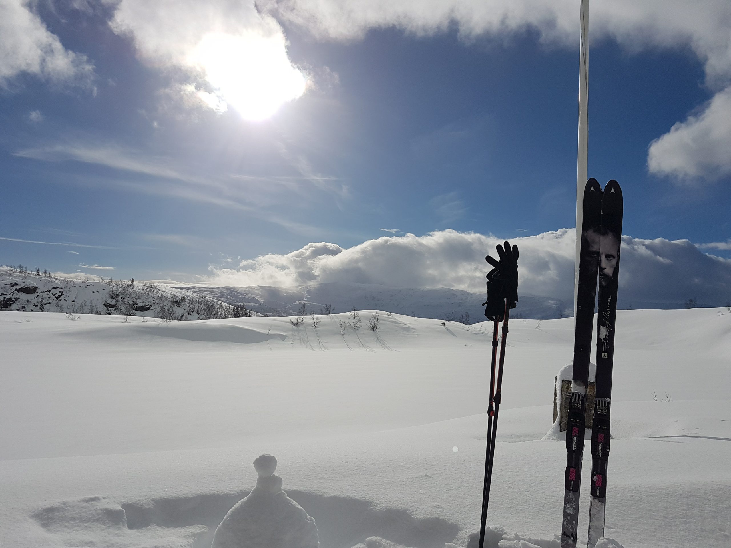 Skiing at Voss
